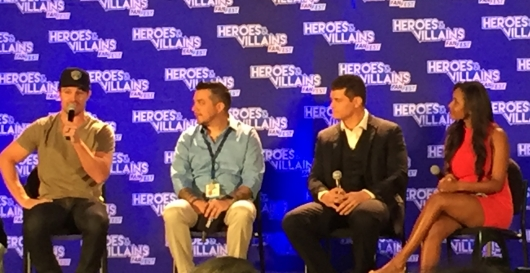Arrow Stephen Amell Cody Rhodes HVFF Panel