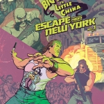 Big Trouble In Little China Escape From New York crossover 1 cover A