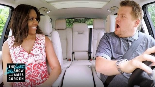 Carpool Karaoke James Corden Michelle Obama