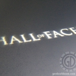 Hall of Faces title card