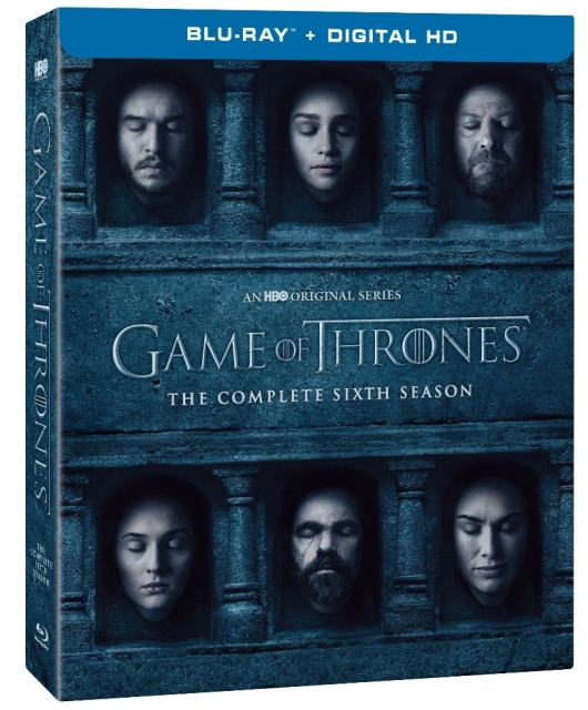Game Of Thrones Season 6 Blu-ray box art