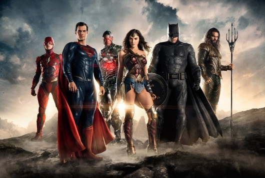 WB DC films Justice League team first look