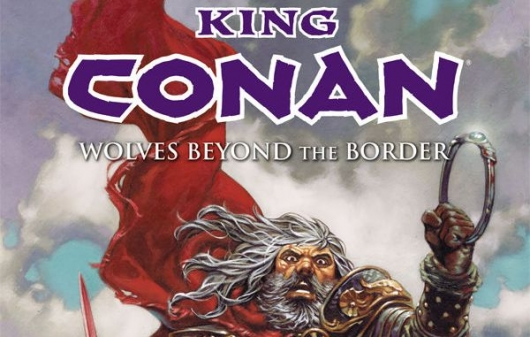 King Conan: Wolves Beyond The Border header