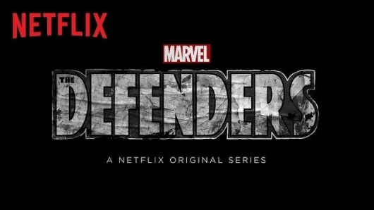 Marvel The Defenders Netflix title