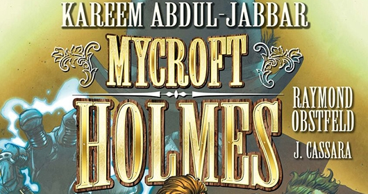 Mycroft Holmes #1 cover A banner