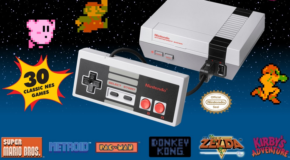 Nintendo To Release Mini NES Console With 30 Games This Year