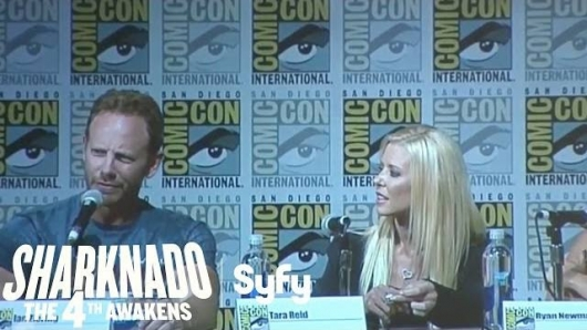 SDCC Sharknado Panel