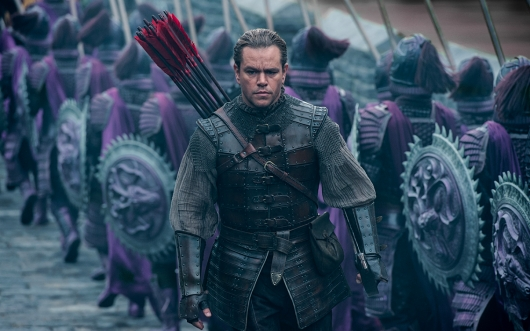 The Great Wall starring Matt Damon