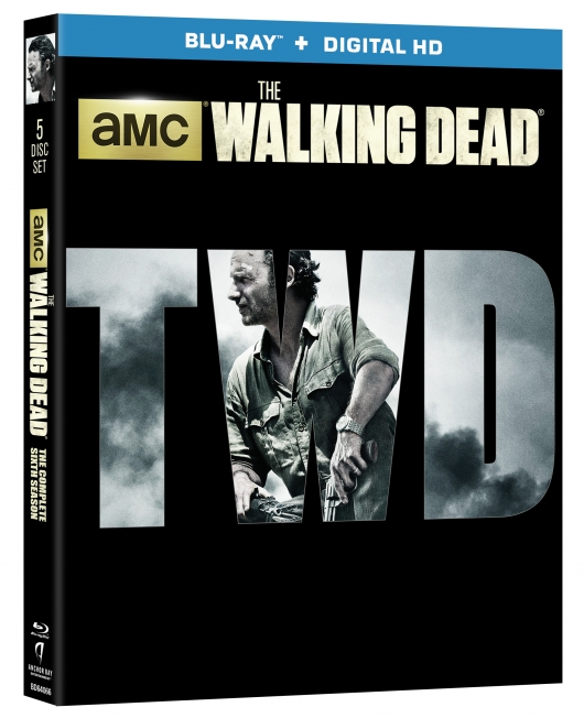 The Walking Dead Season 6 Blu-ray cover