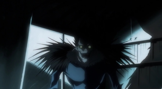 Ryuk the Shinigami in Death Note