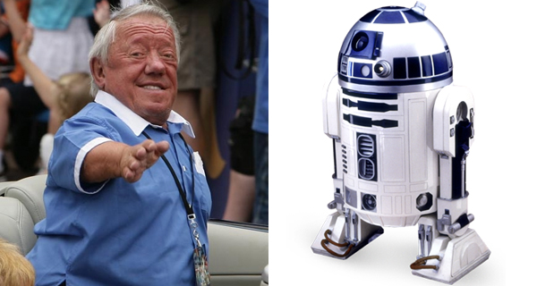 Kenny Baker R2-D2 Star Wars