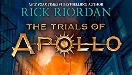 Rick Riordan Trials of Apollo the Hidden Oracle Header