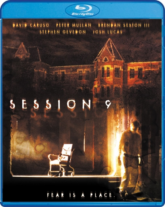 Session 9 Scream Factory Blu-ray Cover Art