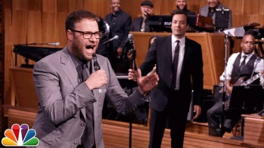 Seth Rogen Jimmy Fallon Lip Sync Battle