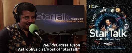 StarTalk with Neil deGrasse Tyson book