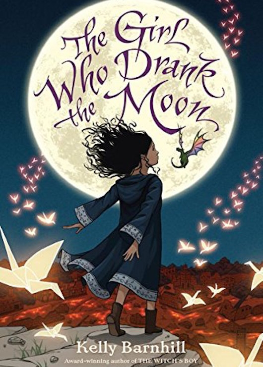 The Girl Who Drank The Moon Cover