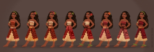 Moana test costume