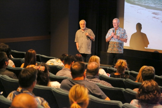Moana (L-R) Directors Ron Clements and Jon Musker