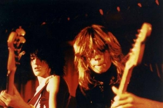 Alan Santalesa and Izzy Stradlin in Shire
