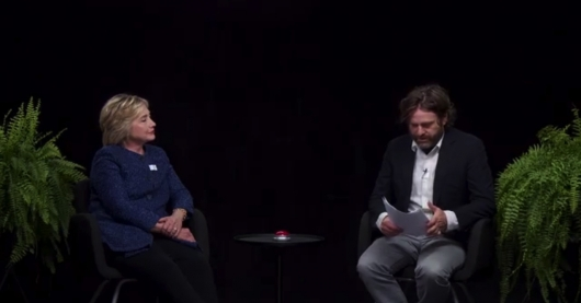 Between Two Ferns Zach Galifianakis Hillary Clinton