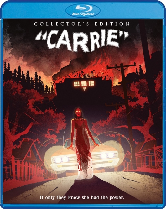 Blu-Ray Review: Carrie (Collector's Edition) Cover Art