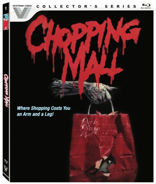 Chopping Mall Blu-ray Cover Art