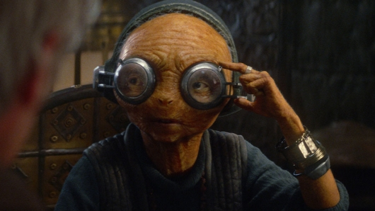 Star Wars The Force Awakens Maz Kanata