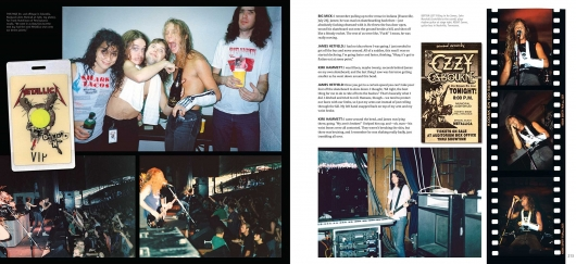 Metallica Back to the Front book preview 03