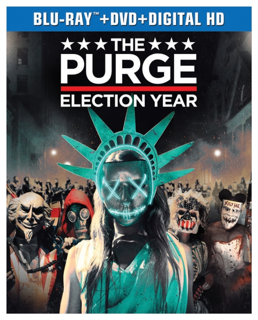 The Purge: Election Year Blu-ray cover