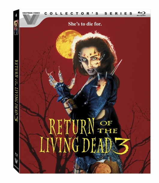 Return of the Living Dead 3 Cover Art