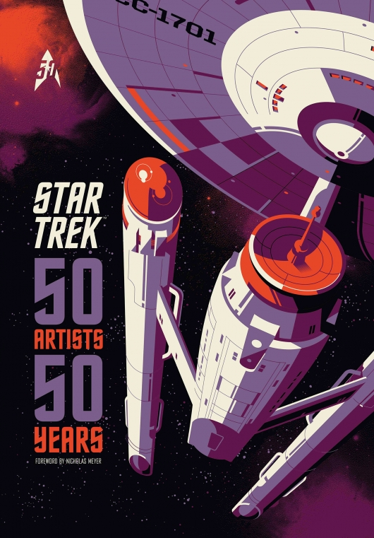 Star Trek: 50 Artists 50 Years hardcover from Titan Books