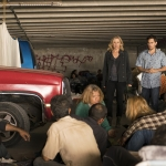 Kim Dickens as Madison Clark, Raul Casso as Andres Diaz, Refugees - Fear the Walking Dead