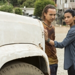 Frank Dillane as Nick Clark, Danay Garcia as Luciana - Fear the Walking Dead