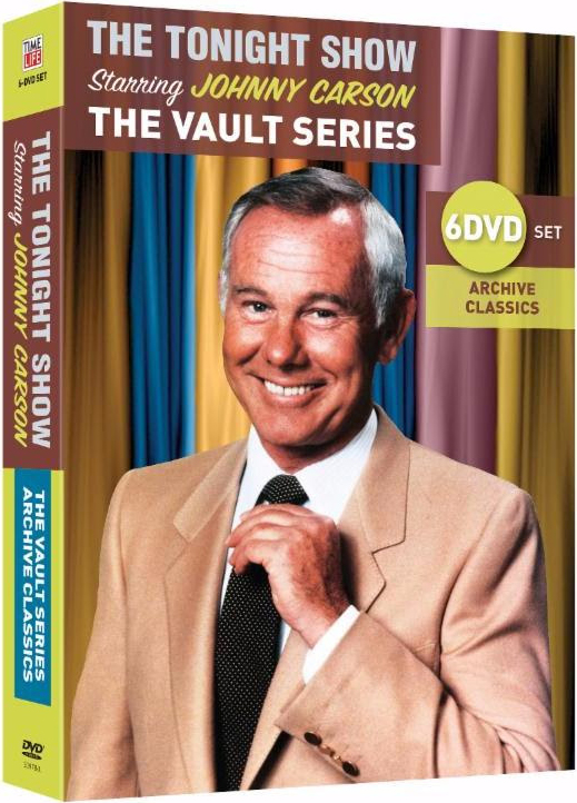 Johnny Carson: The Vault Series, 6 DVD set