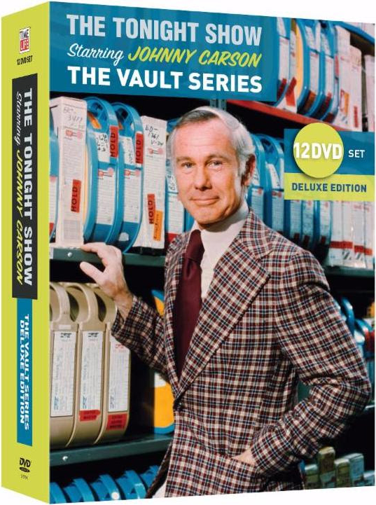 Johnny Carson: The Vault Series, 12 DVD set