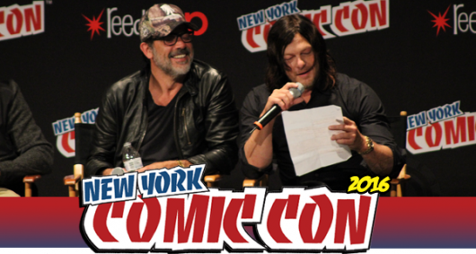 The Walking Dead panel, NYCC 2016