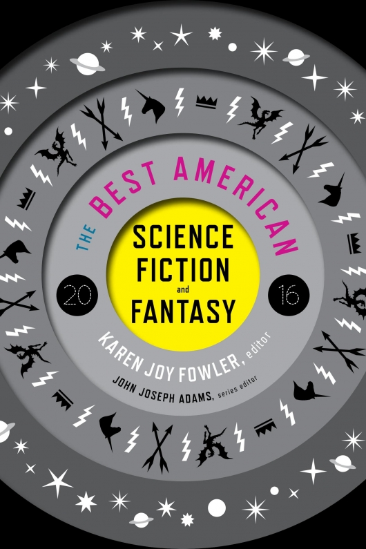 The Best American Science Fiction and Fantasy 2016 cover