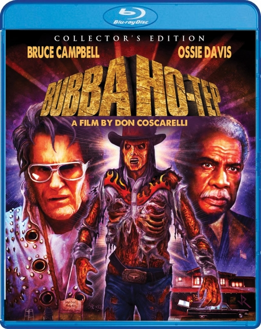 Bubba Ho-Tep (Collector's Edition) Blu-ray Cover Art
