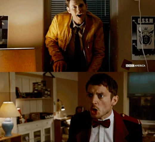 Dirk Gently  Dirk Gently and Elijah Wood as Todd