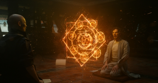 The Ancient One and Doctor Strange