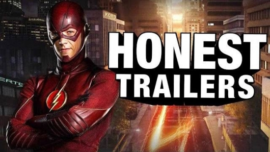 Honest Trailers The Flash Header