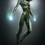 Justice League Mera Concept Art