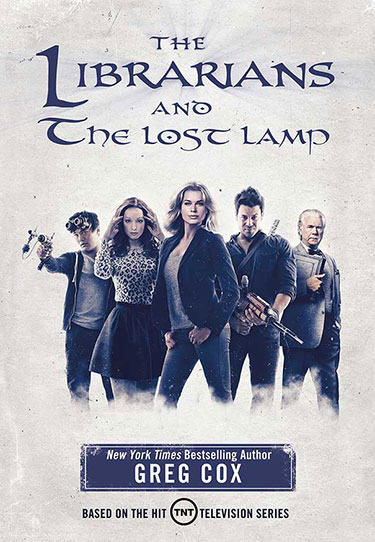 The Librarians and The Lost Lamp book cover