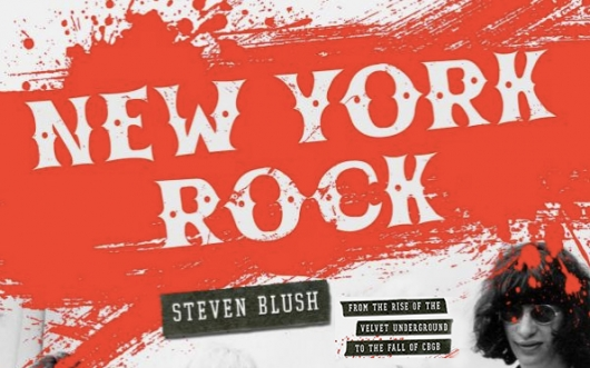 Steven Blush New York Rock book banner