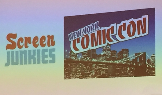 NYCC 2016 Screen Junkies Panel Movie Fights Honest Trailers