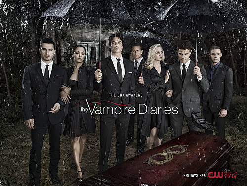 The Vampire Diaries Cast Season 8