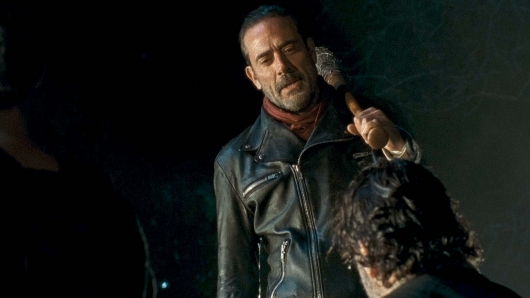 The Walking Dead 7.1 Negan and Rick