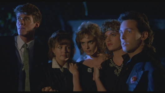 From left to right: Dana Ashbrook, Deborah Foreman, Michelle Johnson, Clare Carey and Eric Brown star in Lionsgate Home Entertainment's WAXWORK
