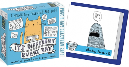 Its Different Every Day Calendar