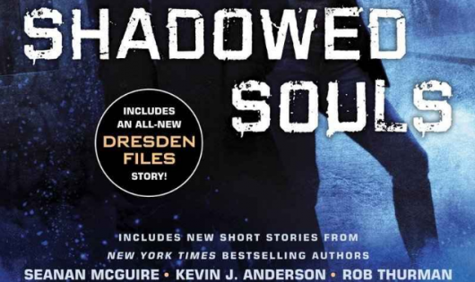 Jim Butcher Shadowed Souls header